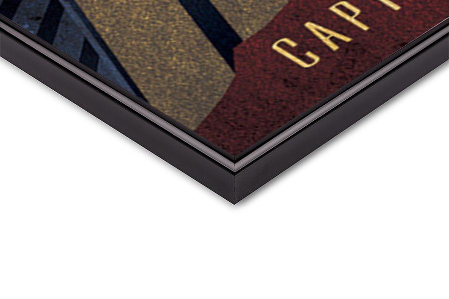 Captain Marvel - Deco плакат