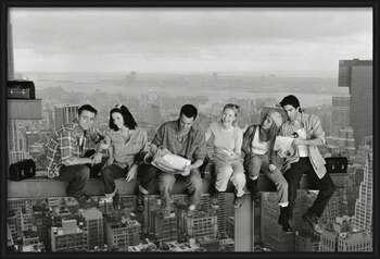 Friends - Lunch On A Skyscraper Картини в рамка