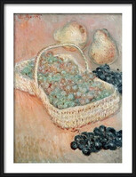 Claude Monet - The Basket of Grapes, 1884 Картини в рамка