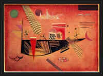 Wassily Kandinsky - Whimsical Картини в рамка