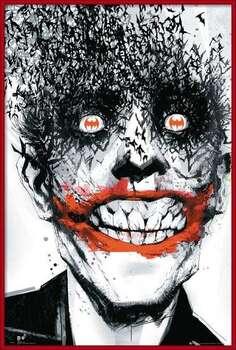 Плакат с рамка BATMAN Comic - Joker Bats