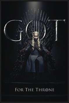 Плакат с рамка Game Of Thrones - Daenerys For The Throne