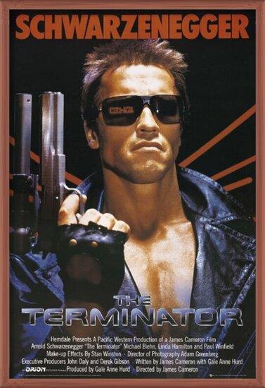 TERMINATOR - one sheet плакат