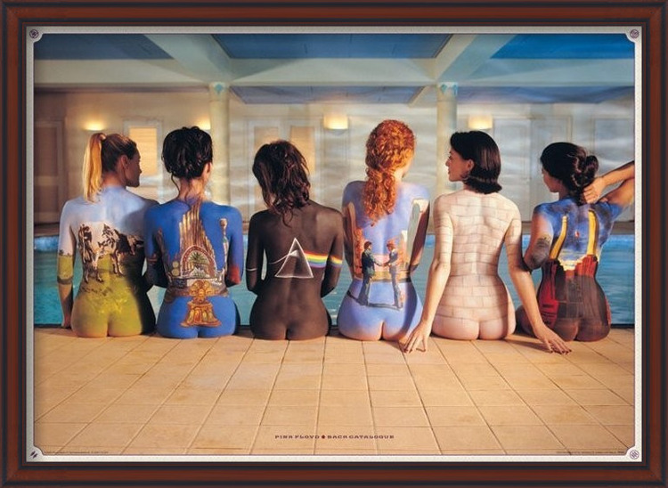 Pink Floyd - back catalogue плакат