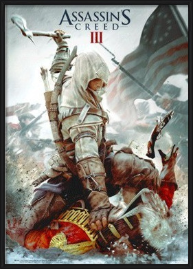 Assassin's Creed III. - cover - плакат (poster)