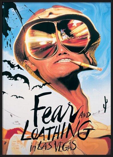 FEAR & LOATHING IN  LAS VEGAS плакат