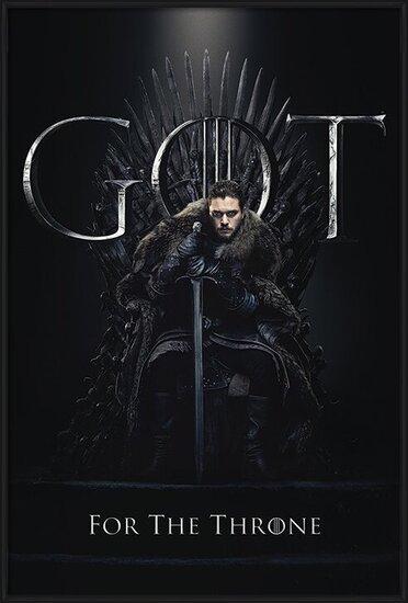 Game Of Thrones - Jon For The Throne плакат